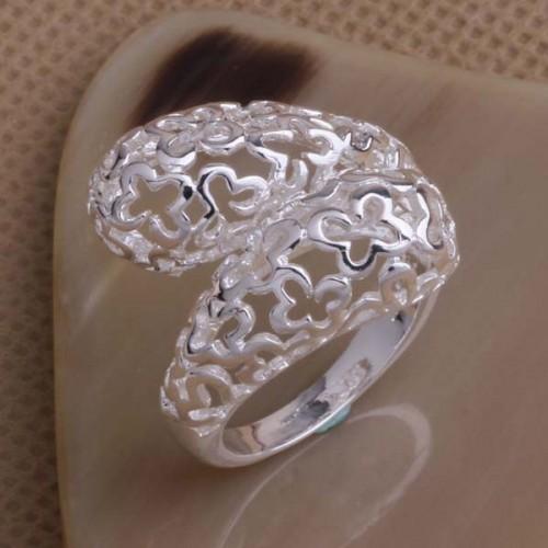 Oryginalny srebrny pierścionek - rozmiar uniwersalny