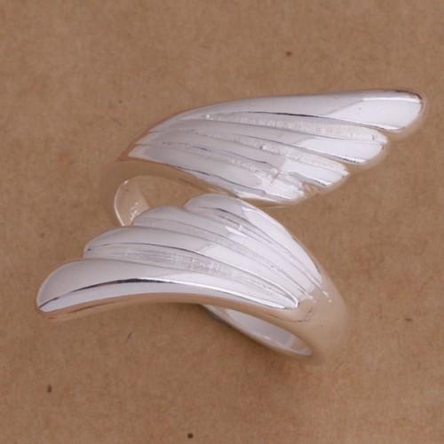 Srebrny pierścionek - rozmiar uniwersalny