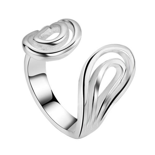 Srebrny pierścionek - regulowany rozmiar