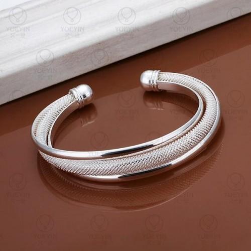 srebrna bransoletka BC108