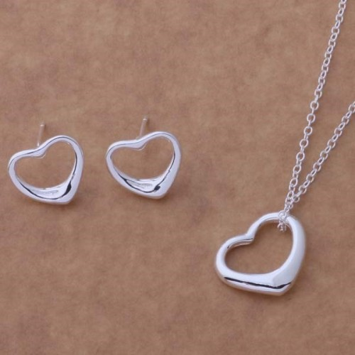 Komplet biżuterii naszyjnik + kolczyki JS054