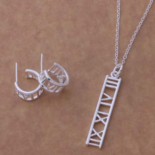 Komplet biżuterii naszyjnik + kolczyki JS056