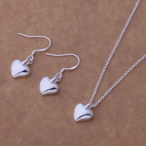 Komplet biżuterii naszyjnik + kolczyki JS058