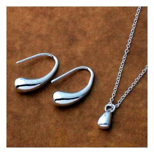 Komplet biżuterii naszyjnik + kolczyki JS055