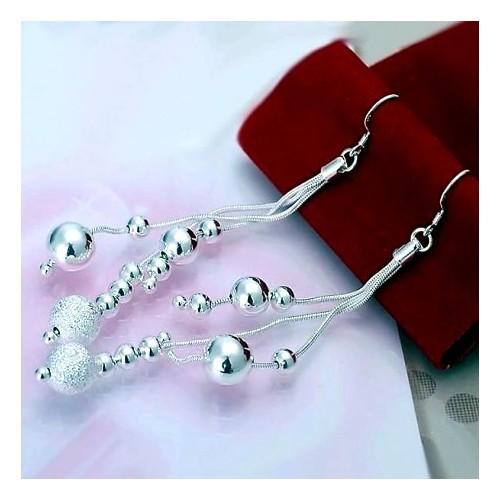 Przepiękne srebrne kolczyki