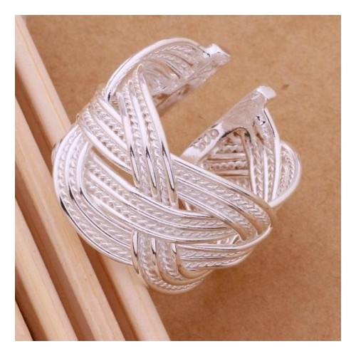 Pierścionek srebrny P011