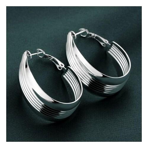 Oryginalne srebrne kolczyki