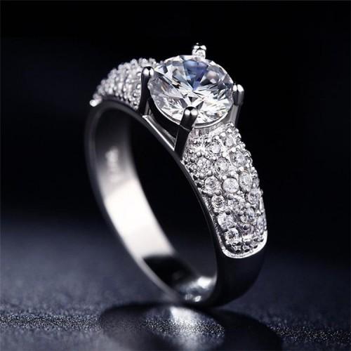 Srebrny pierścionek P061