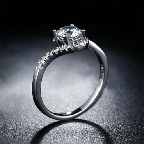 Srebrny pierścionek P062