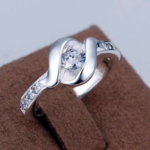 Srebrny pierścionek P064