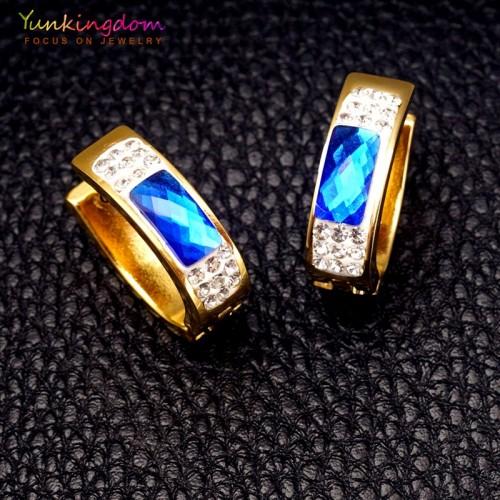 Kolczyki z pięknymi kryształami ER143