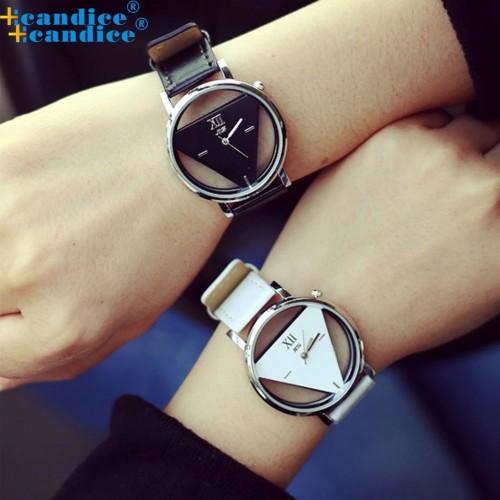 Czarny damski zegarek - WW023BK