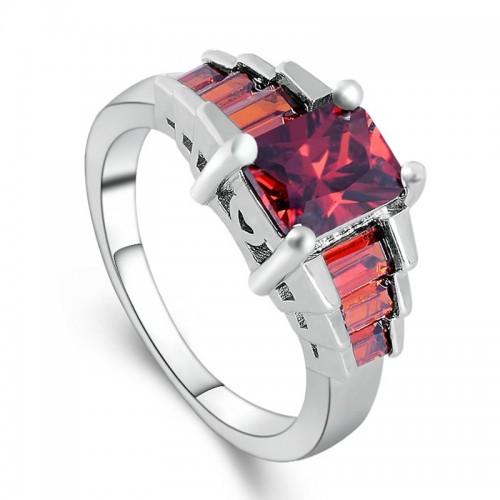 Posrebrzany pierścionek P107