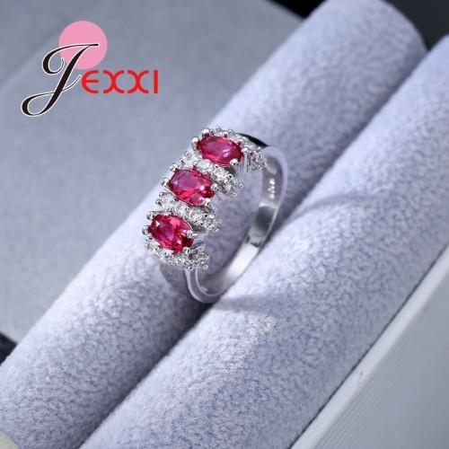 Piękny posrebrzany pierścionek P114