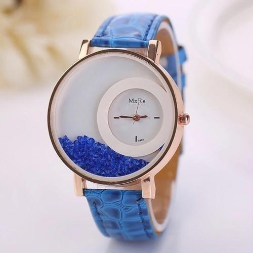zegarek damski z krzyształkami
