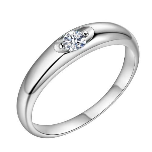 Srebrny pierścionek P124