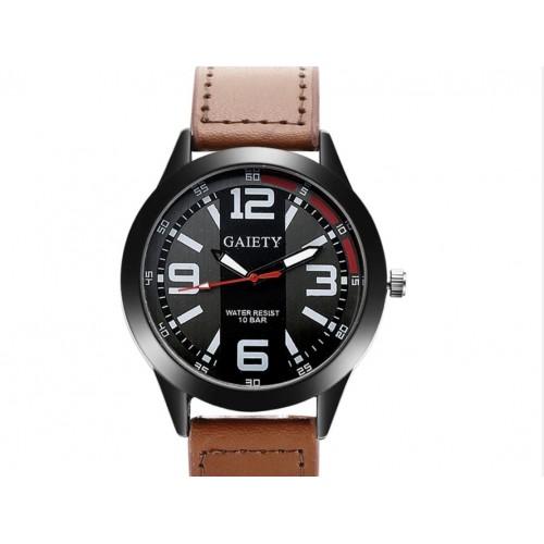 Solidny i elegancki męski zegarek z datownikiem