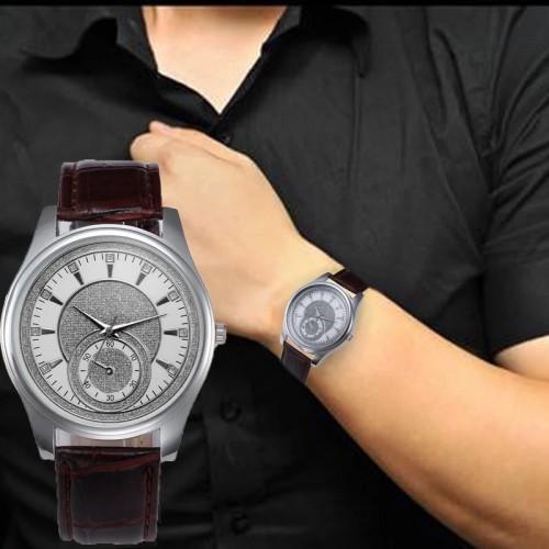 Elegancki męski zegarek