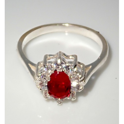 Piękny srebrny pierścionek - P002