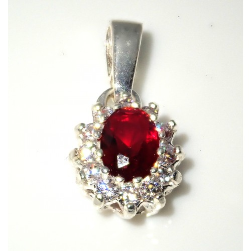 Komplet srebrnej biżuterii. Srebro + cyrkonie Próba 925. KJS043C