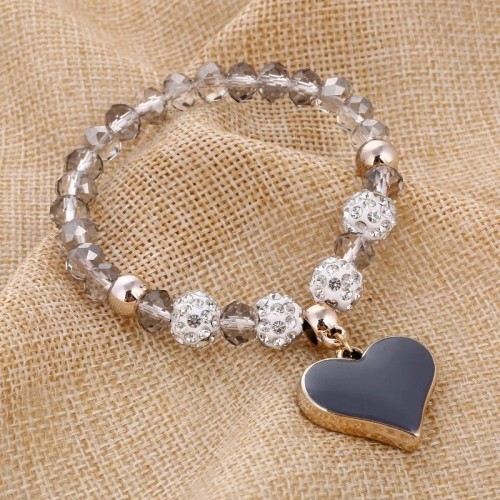Przepiękna bransoletka z sercem