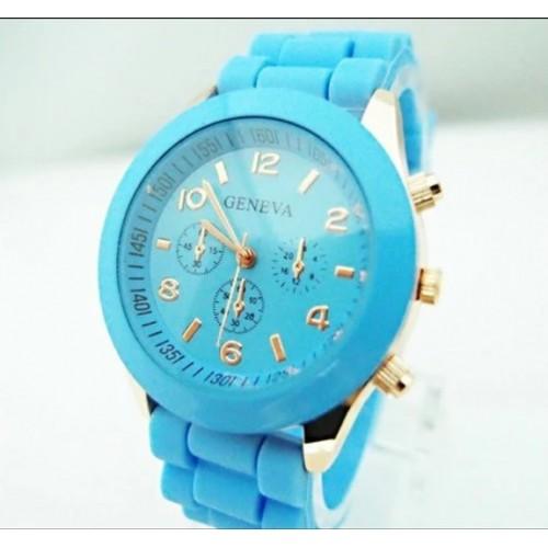 Piękny biały damski zegarek