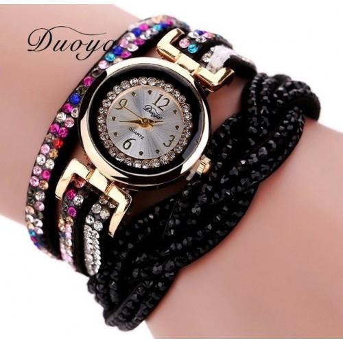 niebieski zegarek z bransoletką