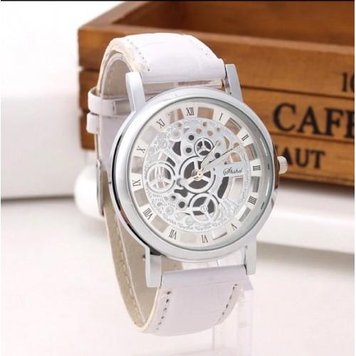 Zegarek z przezroczystą kopertą