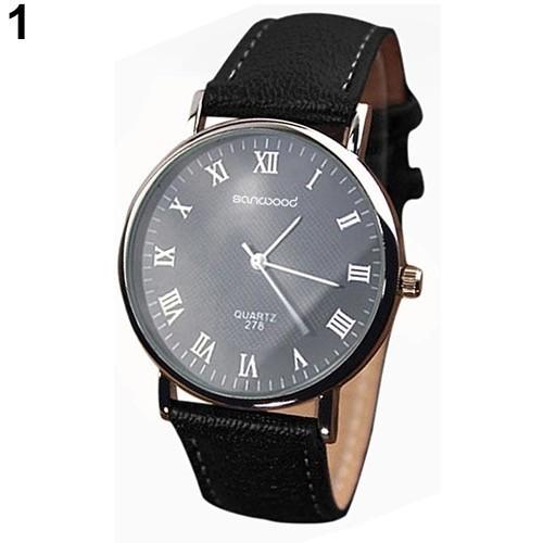 Męski tradycyjny zegarek
