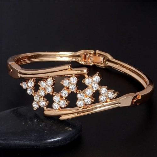 Piękna bransoletka z kryształkami