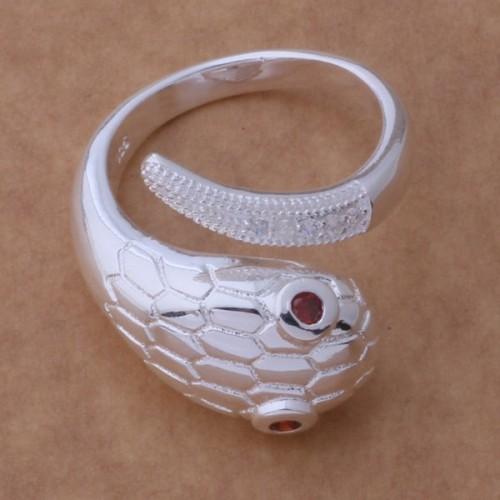 Regulowany srebrny pierścionek - oryginalne wzornictwo