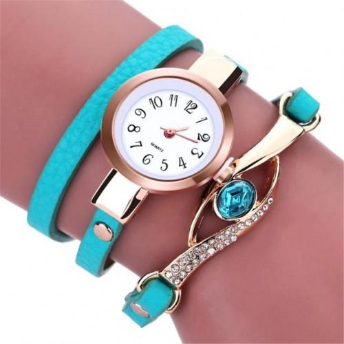 Zegarek damski z ciekawą bransoletką