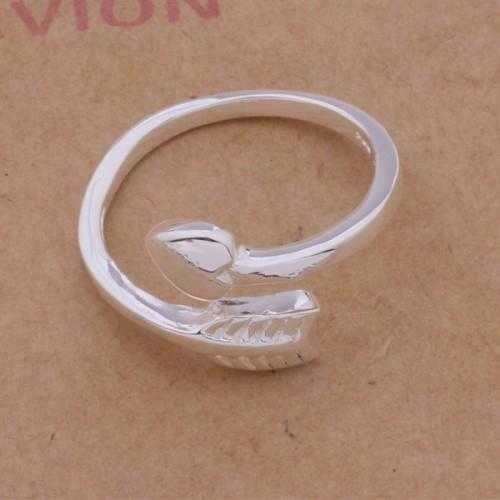 Regulowany srebrny pierścionek 925